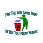 You Know Where Postcards (Package of 8)