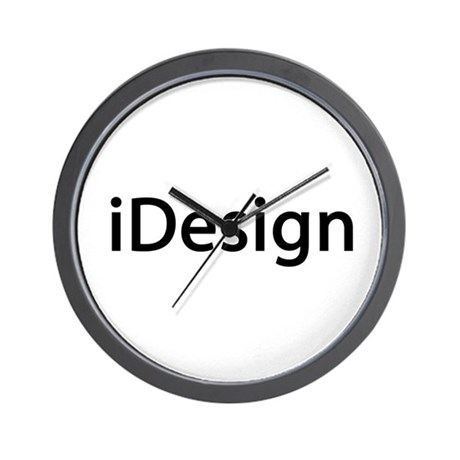 iDesign Interior Design Wall Clock