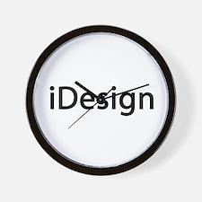 iDesign Interior Design Wall Clock
