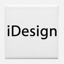 iDesign Interior Design Tile Coaster