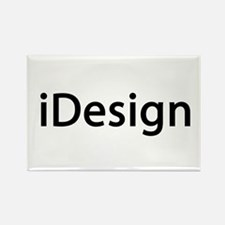 iDesign Interior Design Rectangle Magnet