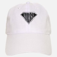 SuperNurse(metal) Baseball Baseball Cap