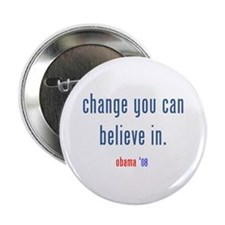 "change you can believe in 2.25"" Button"