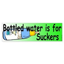 Bottled Water Bumper Bumper Bumper Sticker