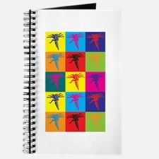 Aerobics Pop Art Journal