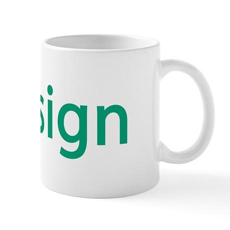 iDesign, Teal Interior Design Mug