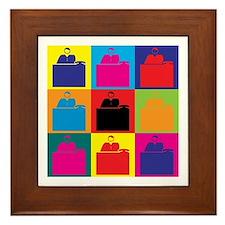Admissions Pop Art Framed Tile