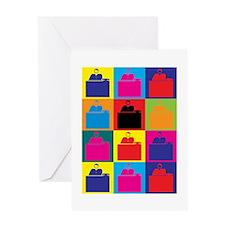 Admissions Pop Art Greeting Card