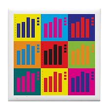 Actuarials Pop Art Tile Coaster