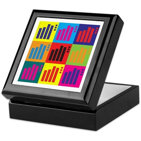 Actuarials Pop Art Keepsake Box