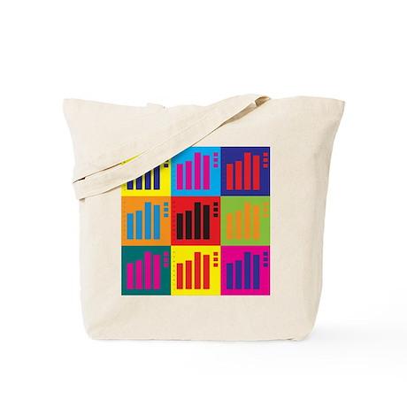 Actuarials Pop Art Tote Bag