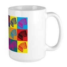 Accordion Pop Art Mug