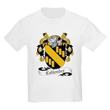 Callender Family Crest Kids T-Shirt