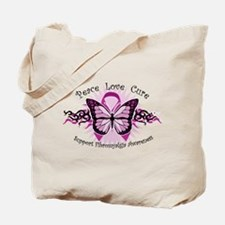Fibromyalgia Butterfly Tote Bag