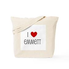 I Love Emmett Tote Bag