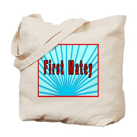 First Matey Tote Bag