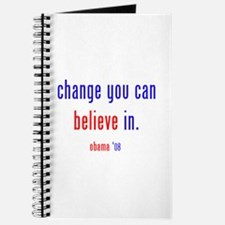 change you can believe in Journal