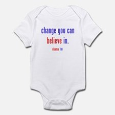 change you can believe in Infant Bodysuit
