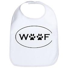 Woof Paws Bib