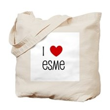 I Love Esme Tote Bag