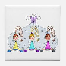 Yoga Trio Tile Coaster