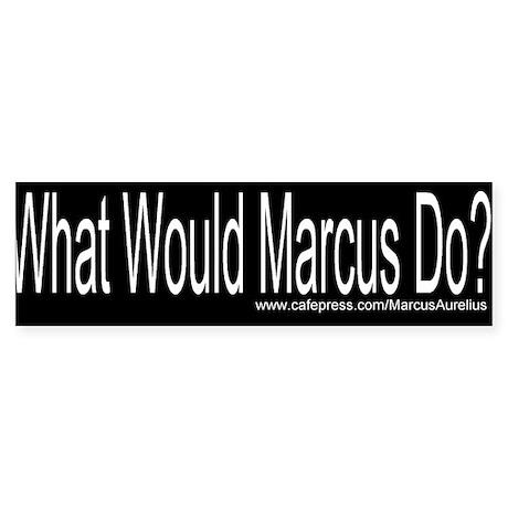 Marcus Aurelius Bumper Sticker