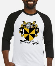 Campbell Family Crest Baseball Jersey