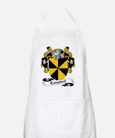 Campbell Family Crest BBQ Apron