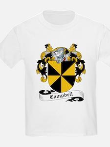 Campbell Family Crest Kids T-Shirt