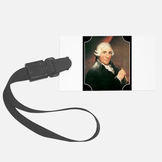 Josef Haydn Luggage Tag