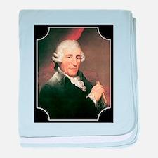 Josef Haydn baby blanket