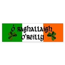O'Reilly in Irish & English Bumper Bumper Sticker