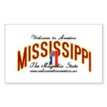 Mississippi Rectangle Sticker