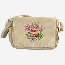 Live Love Read Messenger Bag