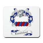 Carmichael Family Crest Mousepad