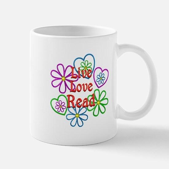 Live Love Read Mug