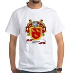 Carnes Family Crest White T-Shirt