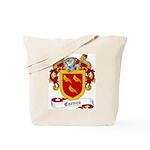 Carnes Family Crest Tote Bag