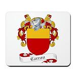Carron Family Crest Mousepad