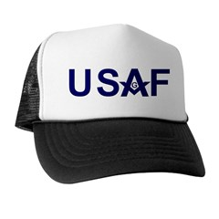 Masonic USAF Trucker Hat