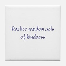 RA Kindness Tile Coaster