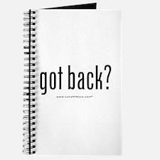 got back? Journal