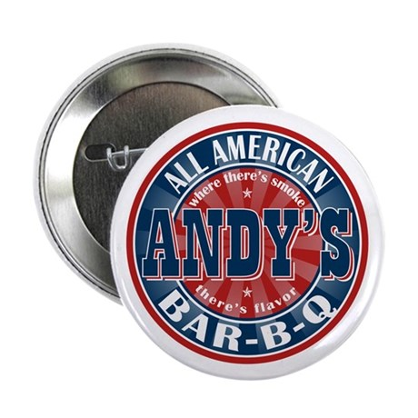 """Andy's All American BBQ 2.25"""" Button (100 pack)"""