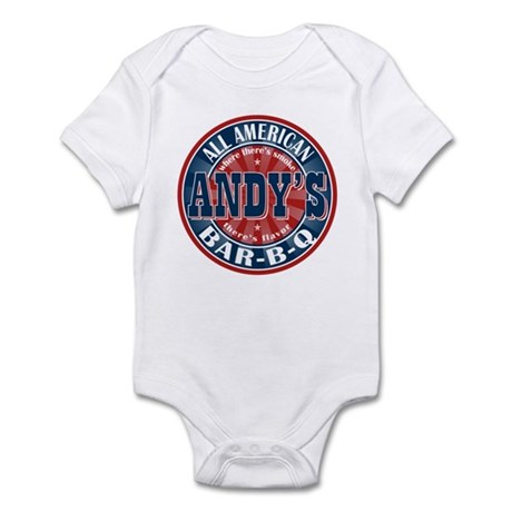 Andy's All American BBQ Infant Bodysuit