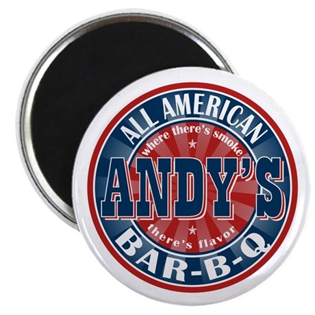 Andy's All American BBQ Magnet