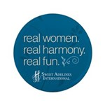 """Real Women 3.5"""" Button (100 pack)"""