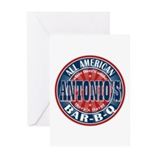Antonio's All American BBQ Greeting Card