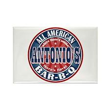 Antonio's All American BBQ Rectangle Magnet