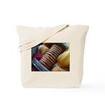 Fiery Handspun Tote Bag