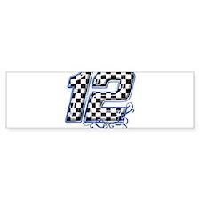 RaceFashion.com 12 Bumper Bumper Sticker